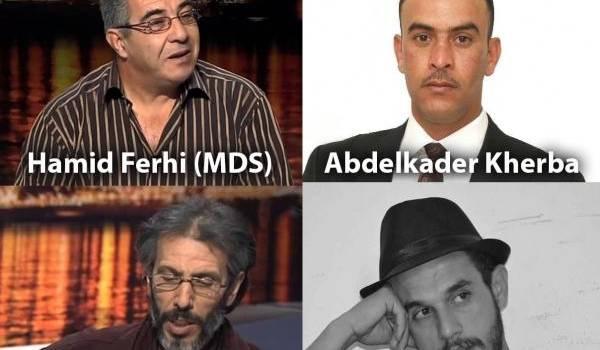 Des militants en grève de la faim