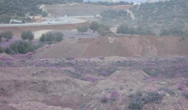 La vallée de la Soummam dévastée.