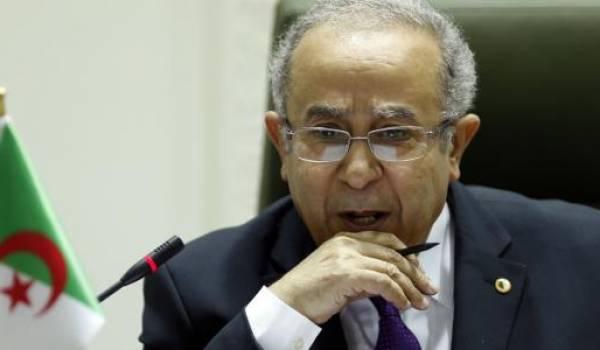 Ramtane Lamamra, le ministre des Affaires étrangères.