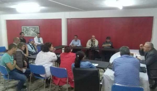 Réunion du Comité national pour la libération des détenus politiques et d'opinion