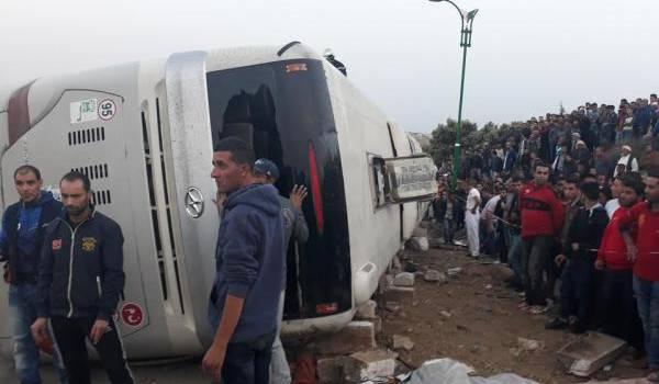 6 morts et 20 blessés dans un grave accident près de Tiaret