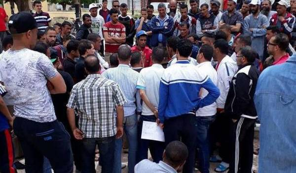 Des manifestants mercredi à Mahdia.