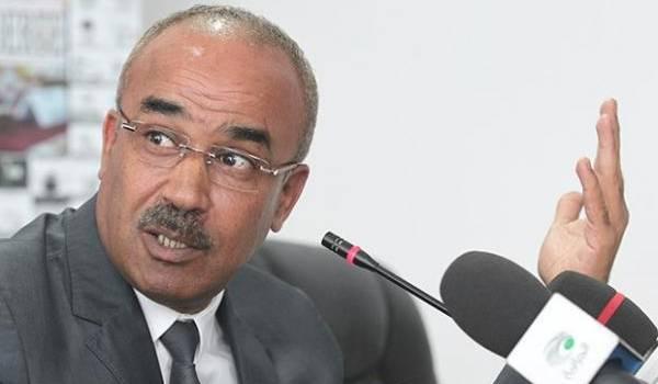 Noureddine Bedoui, ministre de l'Intérieur.