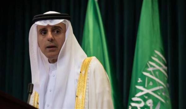 Le ministre saoudien des Affaires étrangères, Adel al-Jubeir