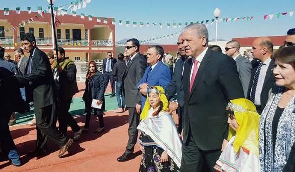 Abdelmalek Sellal à Batna.