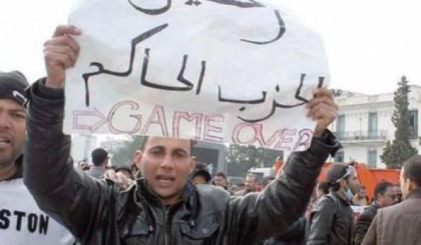 La jeunesse frondeuse algérienne a compris que les tenants du pouvoir ne lâcheront rien.