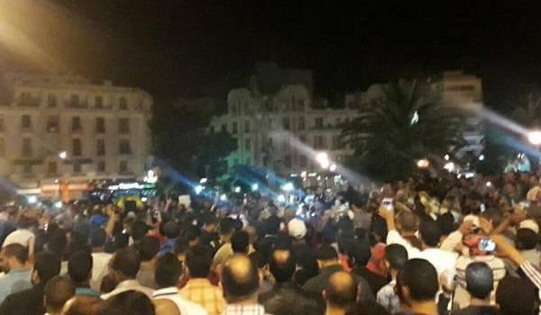 Hier soir, rassemblement à Casablanca en soutien au Rif.