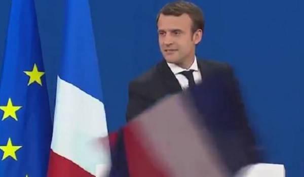 Emmanuel Macron, huitième président de la 5e République.