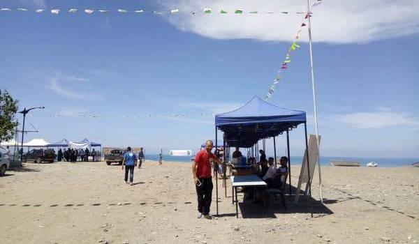 La plage de Melbou