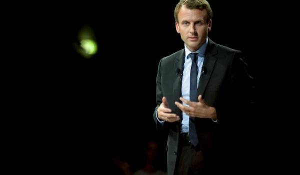 Emmanuel Macron. Crédit photo : François Navarro.