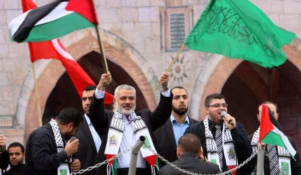 Ismaïl Haniyeh, le chef du Hamas.