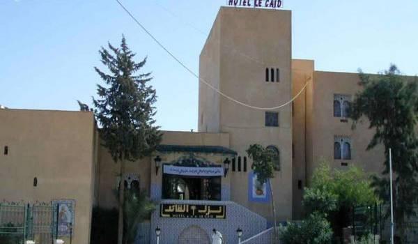 L'hôtel Le Caïd construit en 1925.