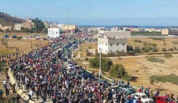 Marche à El Houceima, Maroc (Archive)