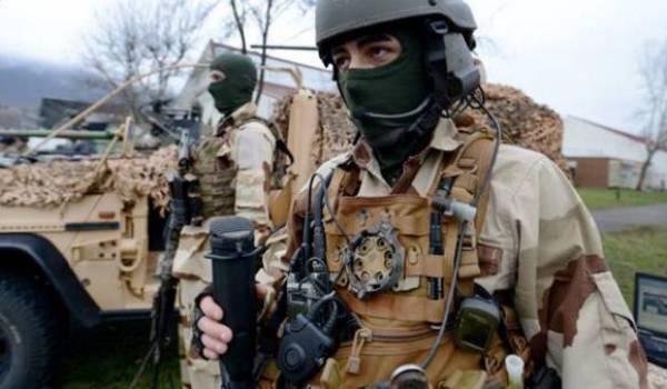 Les forces spéciales française en opération en Syrie. Photo AFP