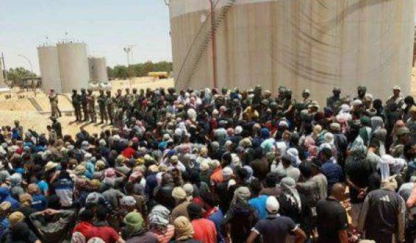 Tensions entre forces de l'ordre et manifestants autour d'un site pétrolier en Tunisie