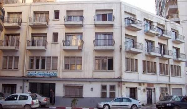 La clinique Larribère à Oran.