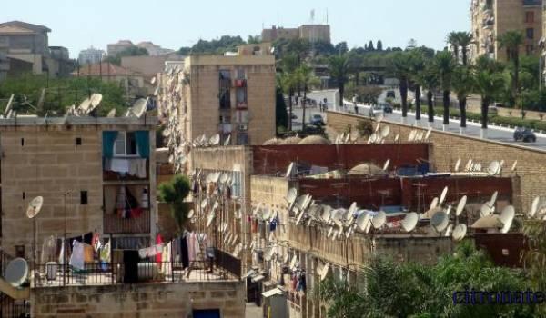 Les paraboles qui surplombent les immeubles sont la meilleure preuve de cette soif médiatique des Algériens.