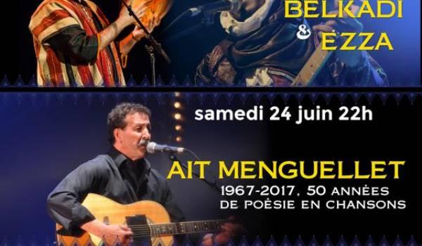 Aït Menguellet, Azal Belkadi et Ezza au Festival Tamazgha à Marseille