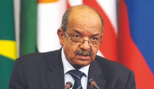 Abdelkader Messahel, le ministre des Affaires étrangères.