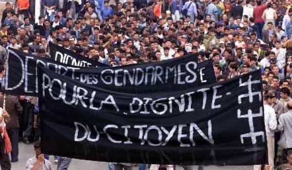 Le 14 juin 2001 jour de la plus grande marche citoyenne de l'histoire de l'Algérie.