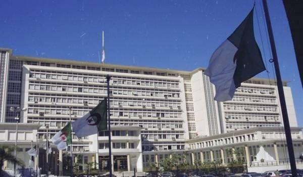 Le palais du gouvernement.