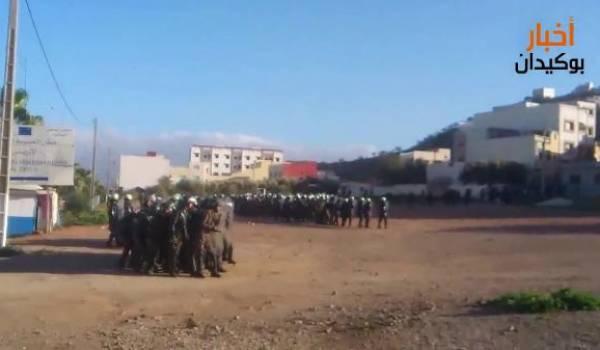 Le Makhzen envoie des gendarmes dans le Rif amazigh et de l'aide alimentaire au Qatar.