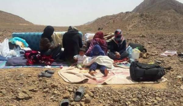 Les réfugiés syriens pris en otages au Maroc.