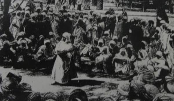 La halqa traditionnelle.