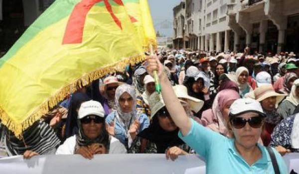 Grande manifestation de soutien au Rif à Rabat