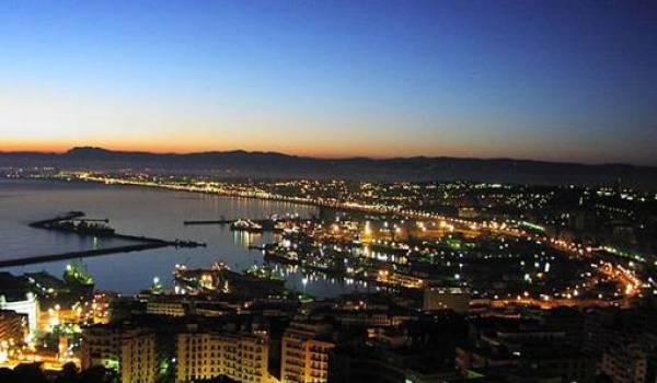 Alger la nuit;