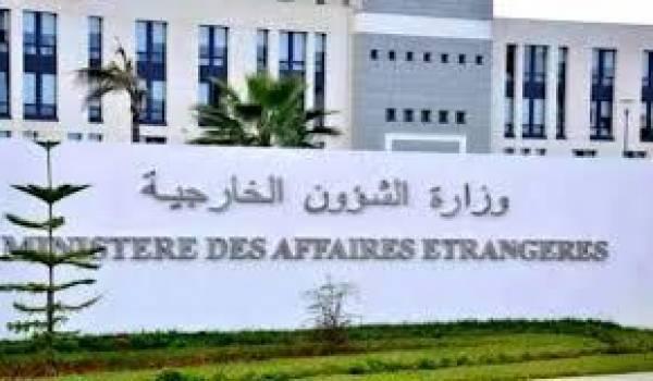L'Algérie réagit à la crise du Golfe