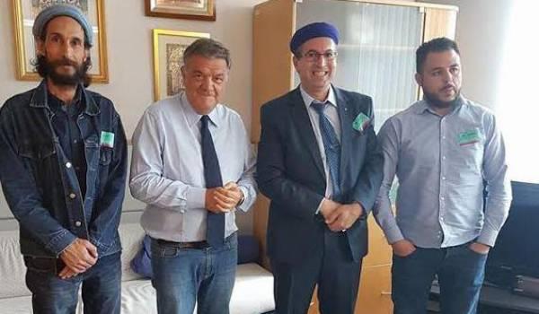 La délégation de l'AMA au parlement européen