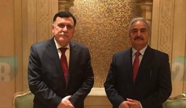 Fayez al-Sarraj et Khalifa Haftar d'accord pour une solution politique en Libye.