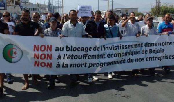 Le comité de soutien au projet de Cevital appelle à une marche lundi matin.