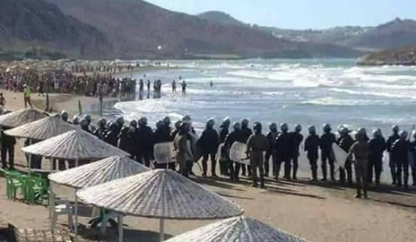 Dans le Rif, les manifestants ont porté la contestation sur les plages