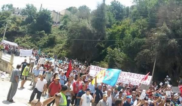 A Aokas, ce samedi, une marche historique pour la liberté d'expression