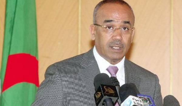 Noureddine Bedoui, ministre de l'Intérieur