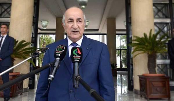 Abdelmadjid Tebboune soutient que l'Algérie dispose des fonds nécessaires pour remettre sur la table les projets d'investissements publics gelés auparavant.
