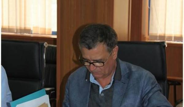 Abdesslam Bouchouareb ce samedi au siège du RND.