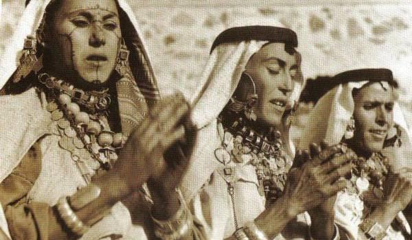 Femmes portant des bijoux berbères d'Agadir.
