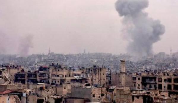 La Syrie réduite en cendres par l'une des guerres les plus sauvages de ces dernières années.
