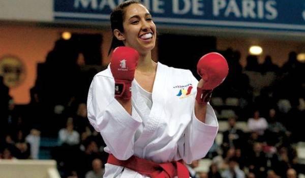 Lamya Matoub décroche la médaille d'or aux Mondiaux de karaté