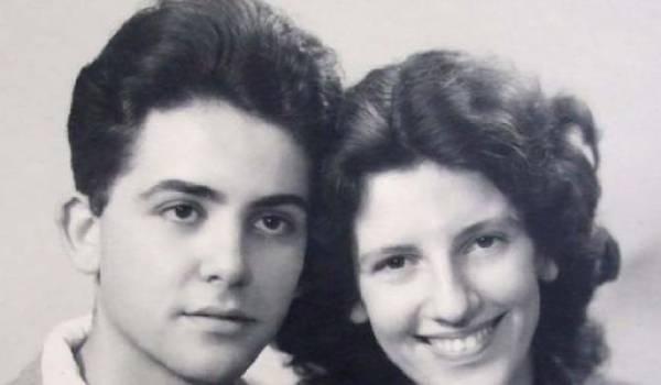 Maurice et son épouse Josette Audin.