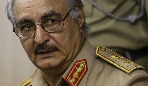 Le général Haftar.