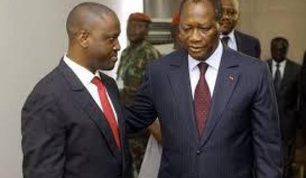 Alassane Ouattara au coeur de la tourmente.