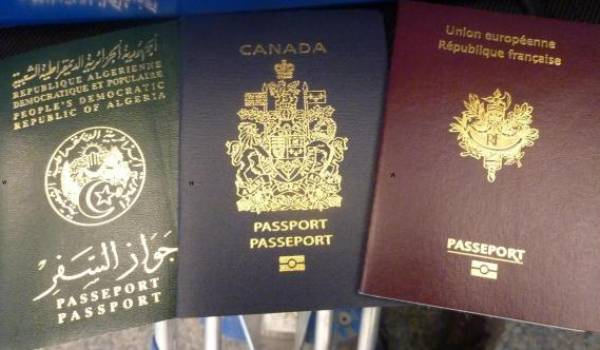Le passeport algérien au 171e rang mondial !