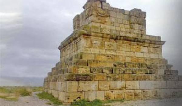 Le tombeau de Massinissa.