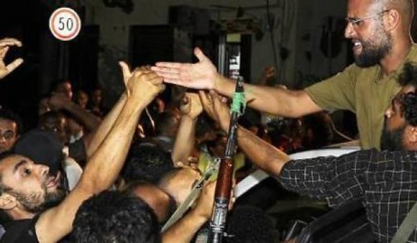 Seif el Islam libéré par la milice amazighe de Zenten
