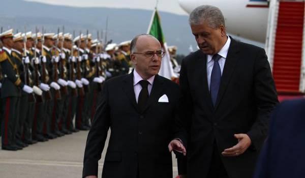 L'ex-ambassadeur de France en Algérie en compagnie de Abdelmalek Sellal.