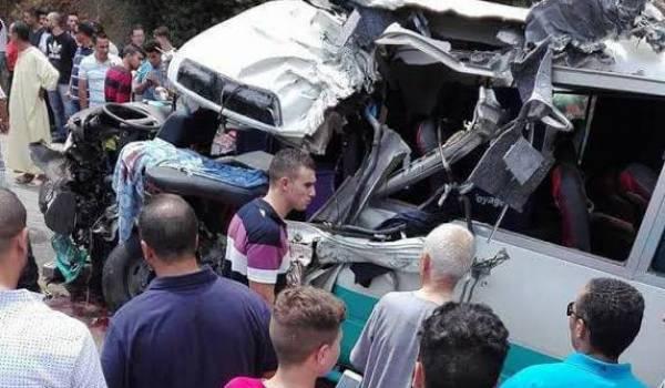 Accident à Bejaia : 20 enfants blessés dont quatre dans un état grave